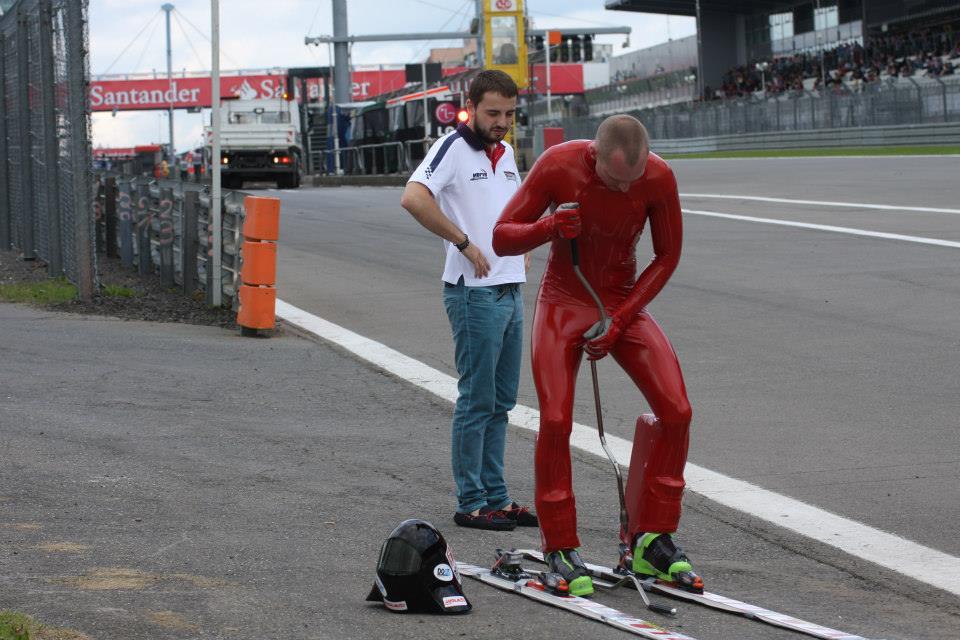 553Jędrzej Dobrowolski na Nurburgring